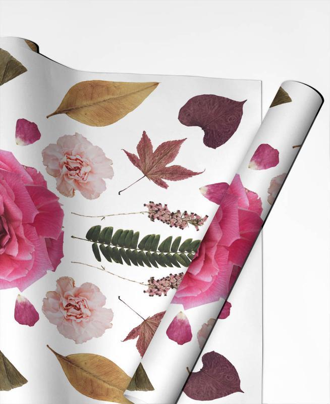 Feuilles & Plantes, Botanical N1 papier cadeau