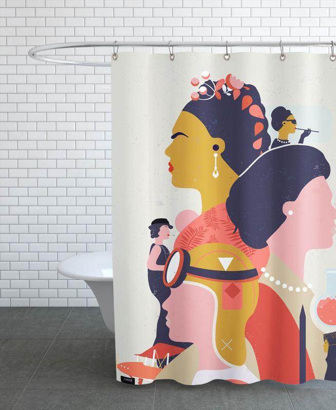 Frida Kahlo, Phewomenal rideau de douche