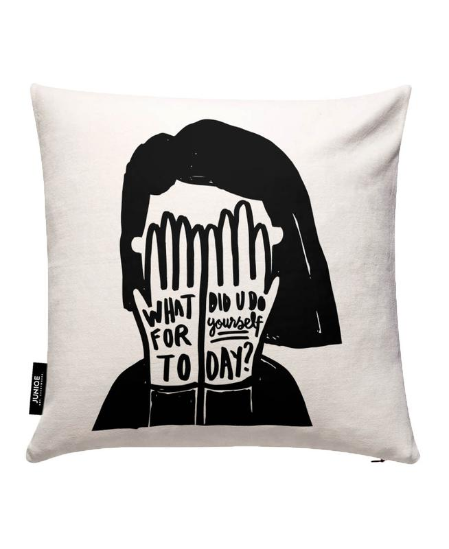 For Yourself - Girl Cushion Cover