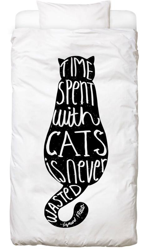 Freud's Cat Bed Linen