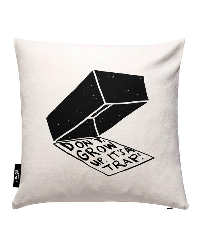 Don't Grow Up Cushion Cover