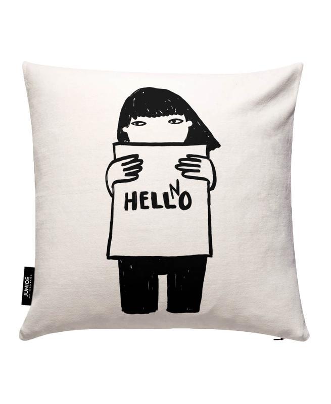 Hello Cushion Cover