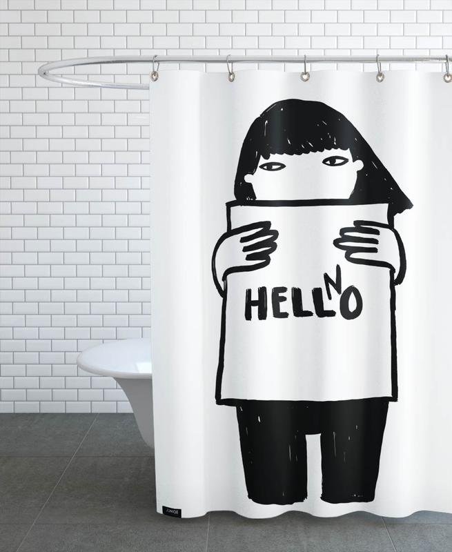 Hello rideau de douche