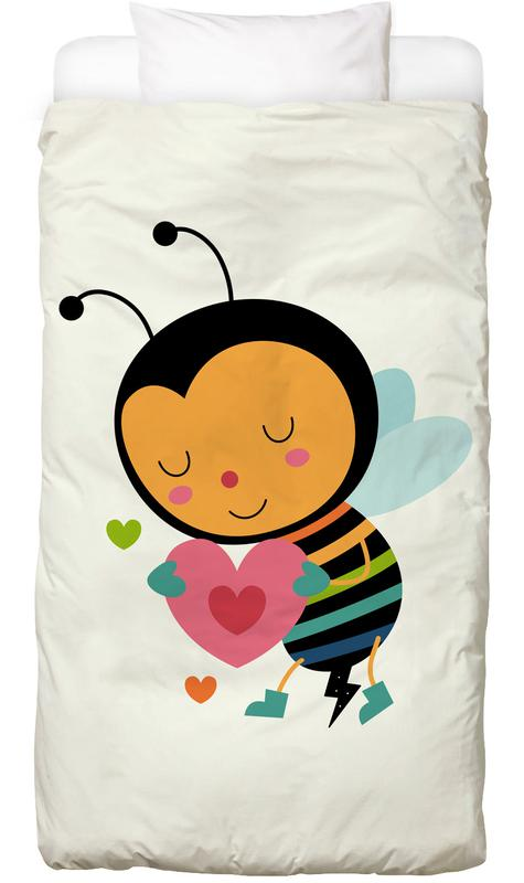 Bee Mine -Kinderbettwäsche
