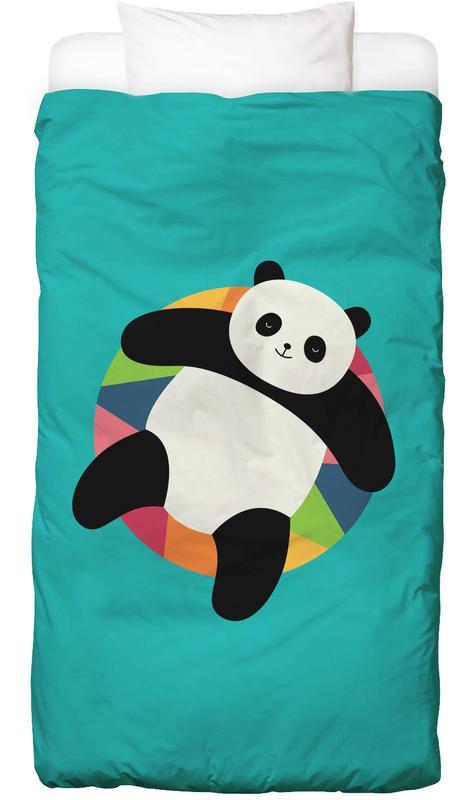 Kinderzimmer & Kunst für Kinder, Pandas, Chillin -Kinderbettwäsche