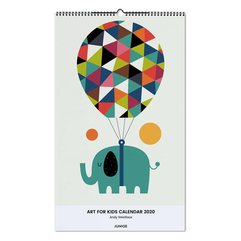 Art For Kids Calendar 2020 - Andy Westface calendrier mural