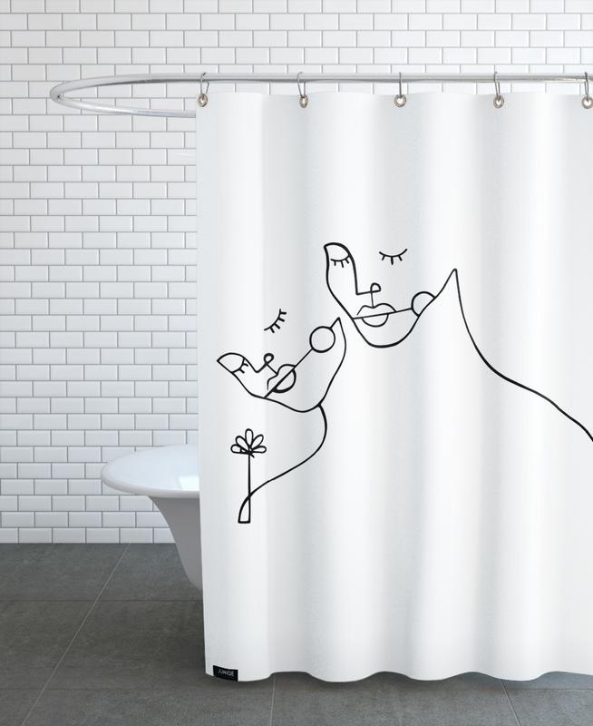 Lovers -Duschvorhang