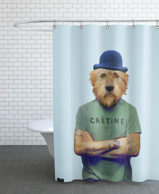 Mr Who Shower Curtain