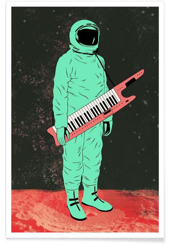 Astronauter, Space Jam Plakat