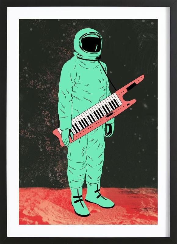 Space Jam -Bild mit Holzrahmen