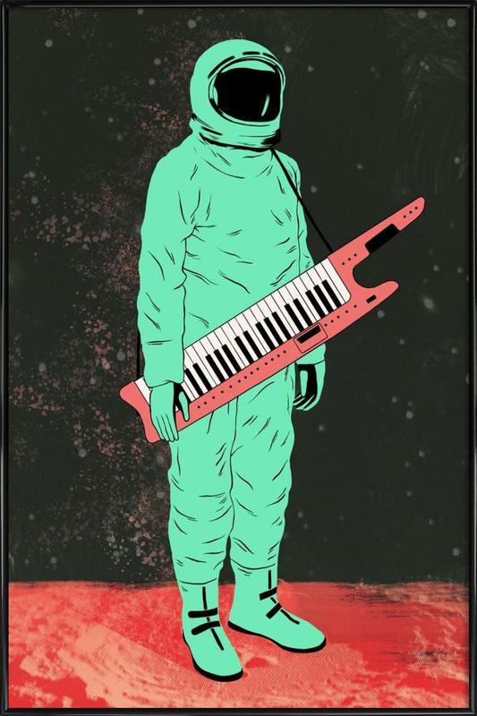 Space Jam ingelijste poster