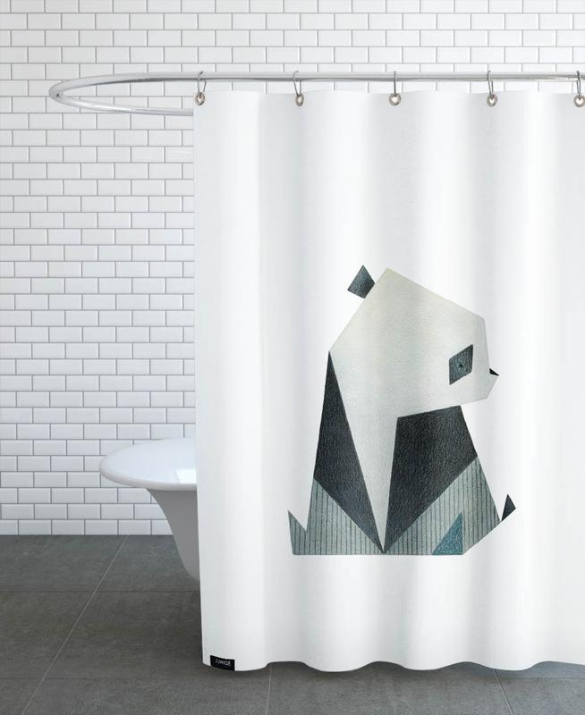 Panda 2 Shower Curtain