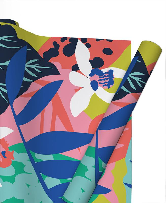 Feuilles & Plantes, Jungle Foliage papier cadeau