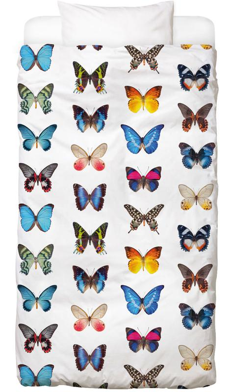 Colourful Butterflies Bed Linen