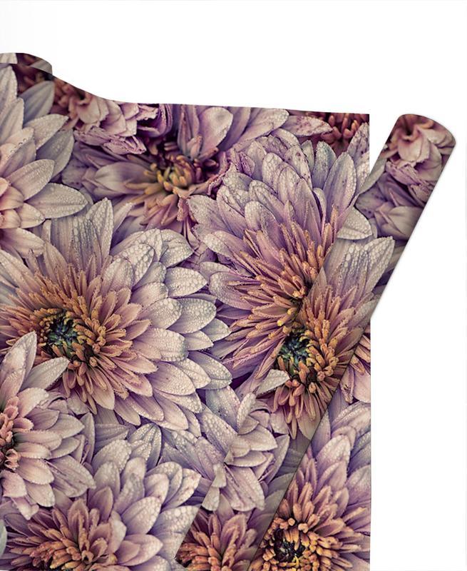 , Wheeping Chrysanthemums papier cadeau