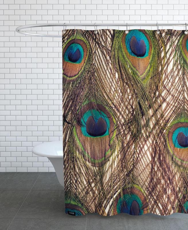 Peacocks, Peacock Shower Curtain