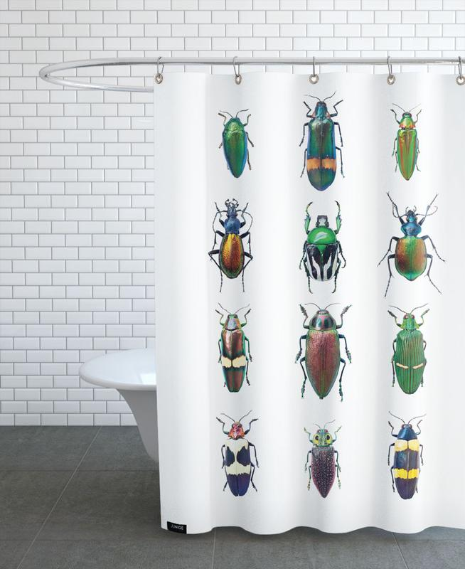 Insect 3 Shower Curtain