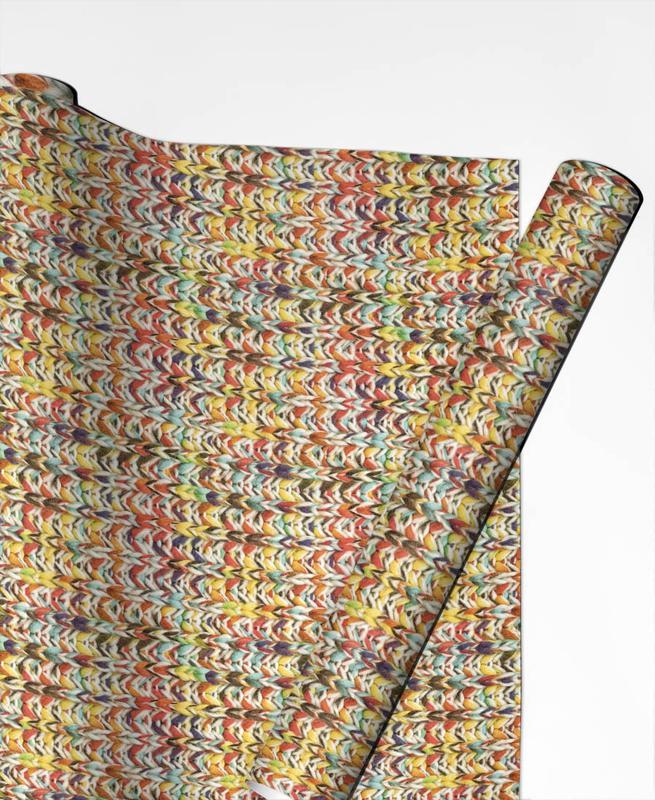 Muster, Knit -Geschenkpapier