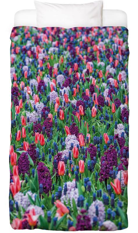Tulip Field Purple Kids' Bedding