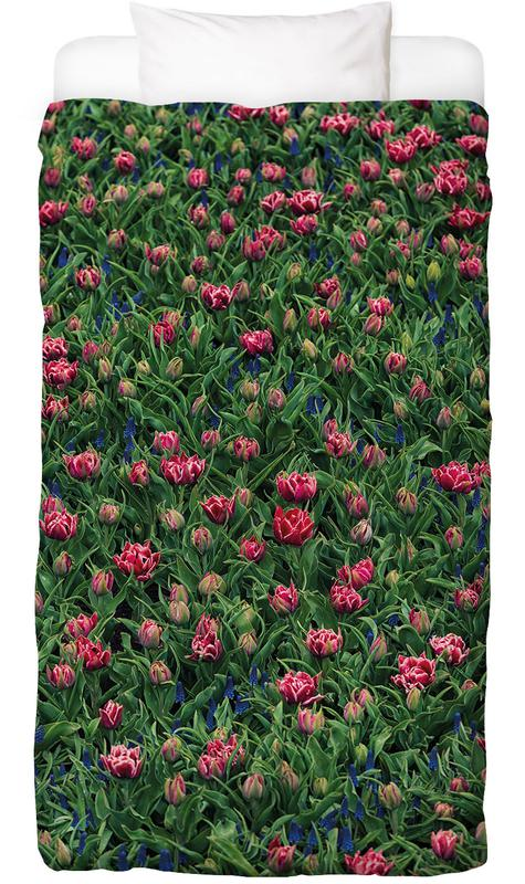 Tulip Field Pink Kids' Bedding