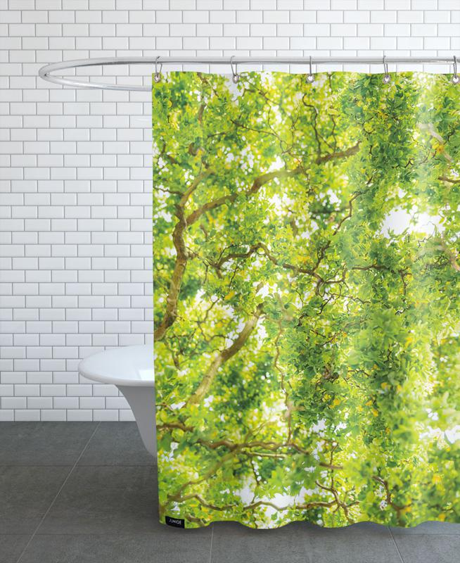 Hazel Tree Shower Curtain