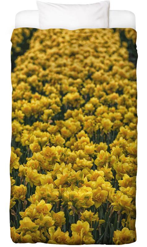 Golden Tulips -Kinderbettwäsche