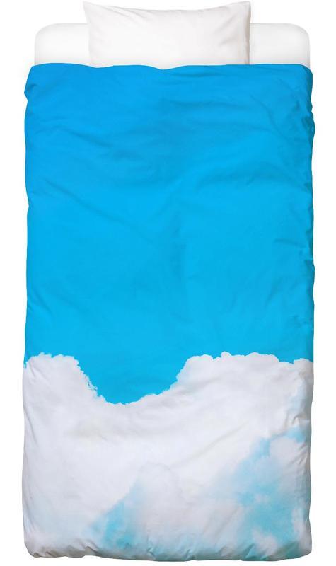 Blue Clouds I Bettwäsche