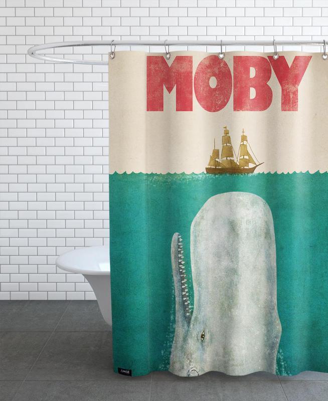 Moby rideau de douche