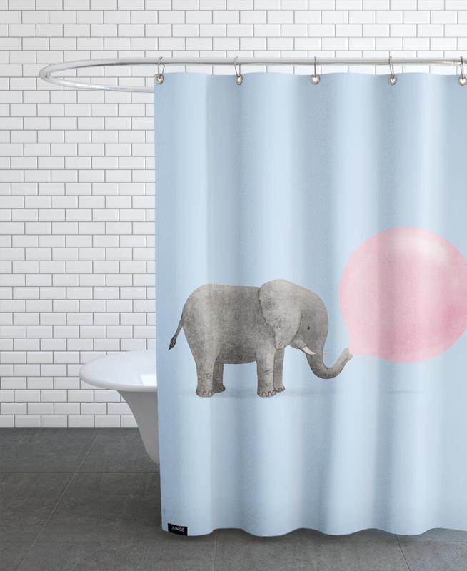Jumbo Bubble Shower Curtain