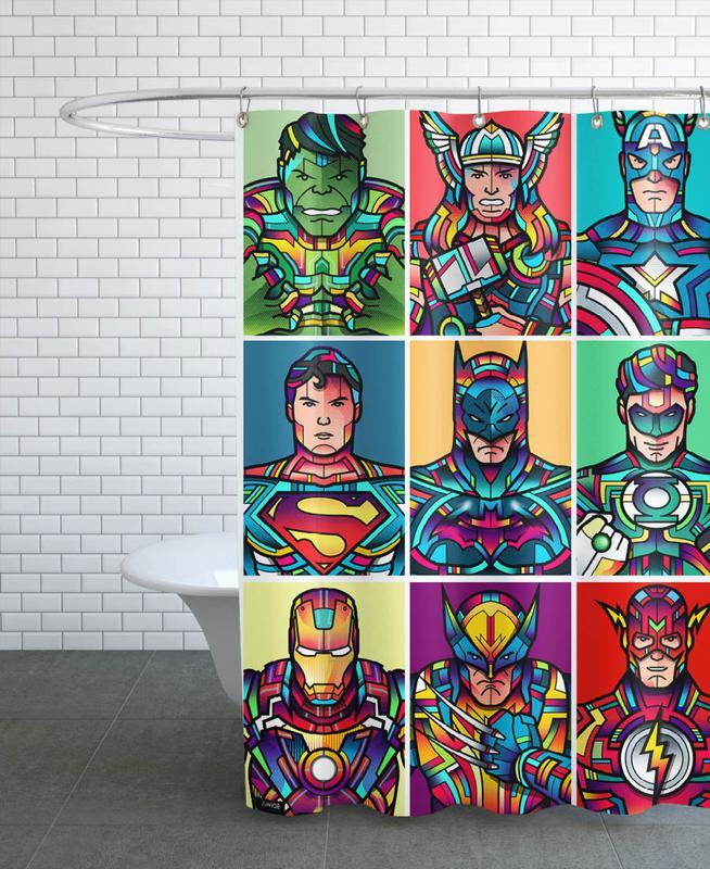 Super Pop Shower Curtain