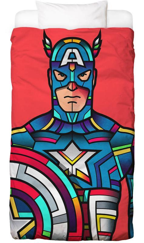 Captain America, Popart, Captain America Dekbedovertrekset
