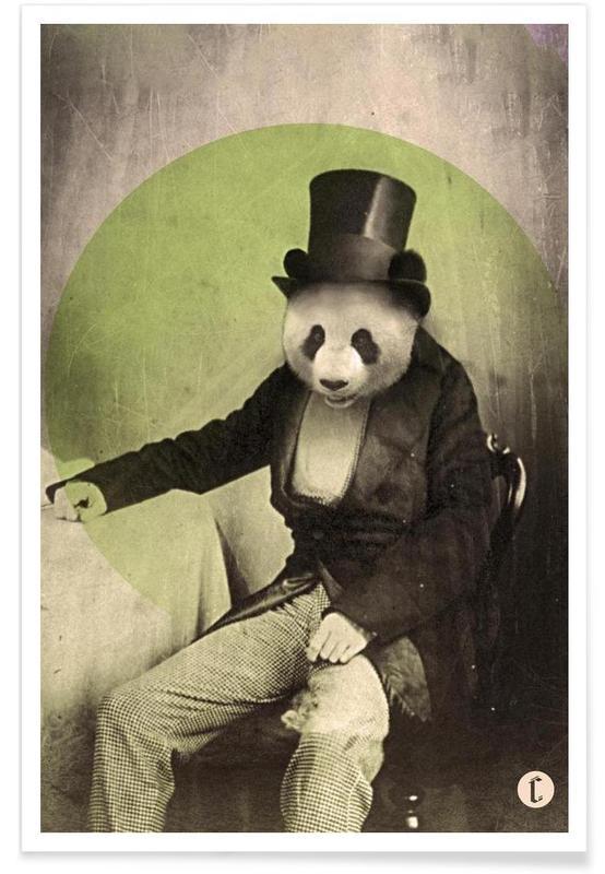 Proper Panda Poster