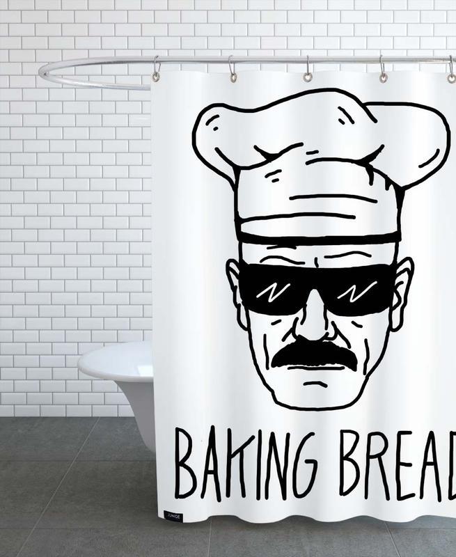 Bake Bread -Duschvorhang