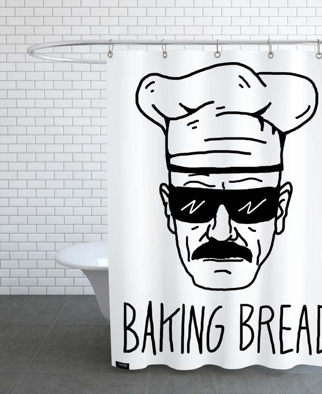 Bake Bread Shower Curtain