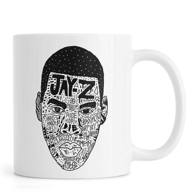 Noir & blanc, Humour, Jay Z mug