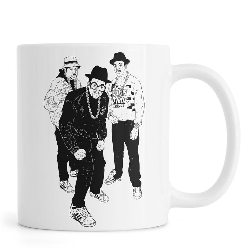 Noir & blanc, Humour, Run mug