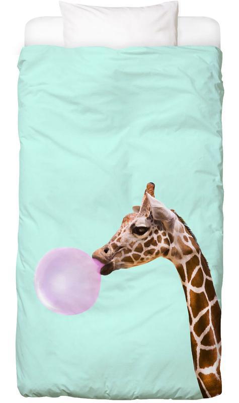 Kinderzimmer & Kunst für Kinder, Lustig, Giraffen, Pop Art, Giraffe Bettwäsche