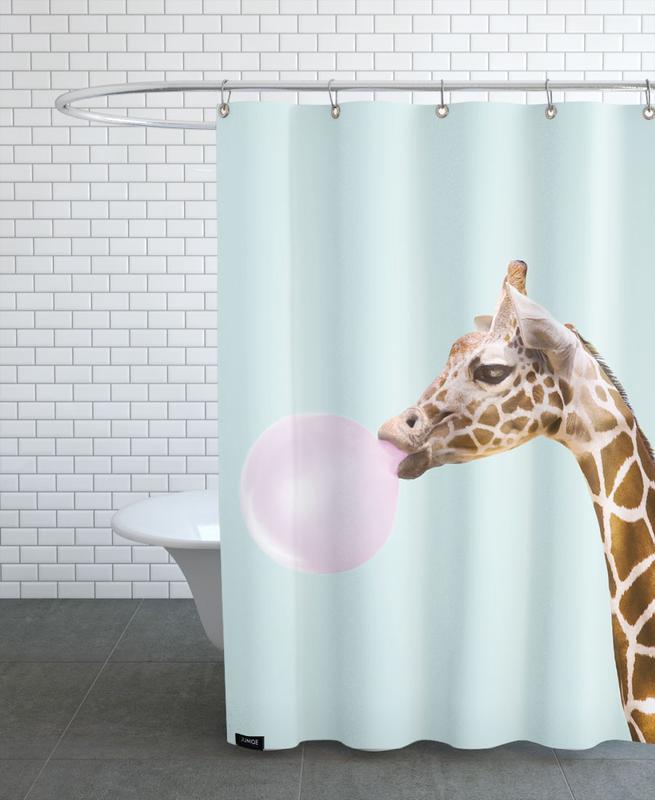 Giraffe -Duschvorhang