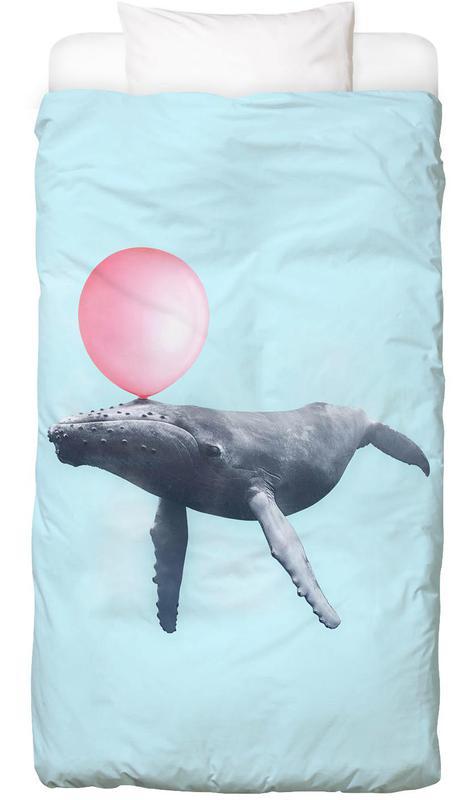 Kunst voor kinderen, Walvissen, Bubblegum Whale kinderbeddengoed