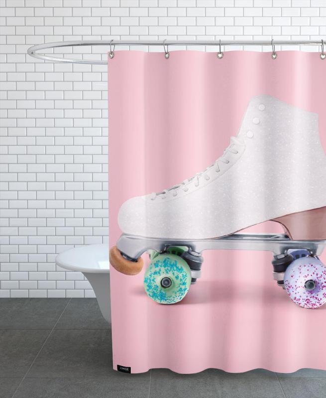 Roller Donut -Duschvorhang