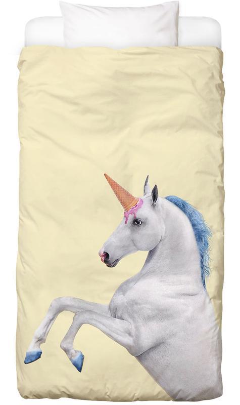 Ice Cream Unicorn -Kinderbettwäsche