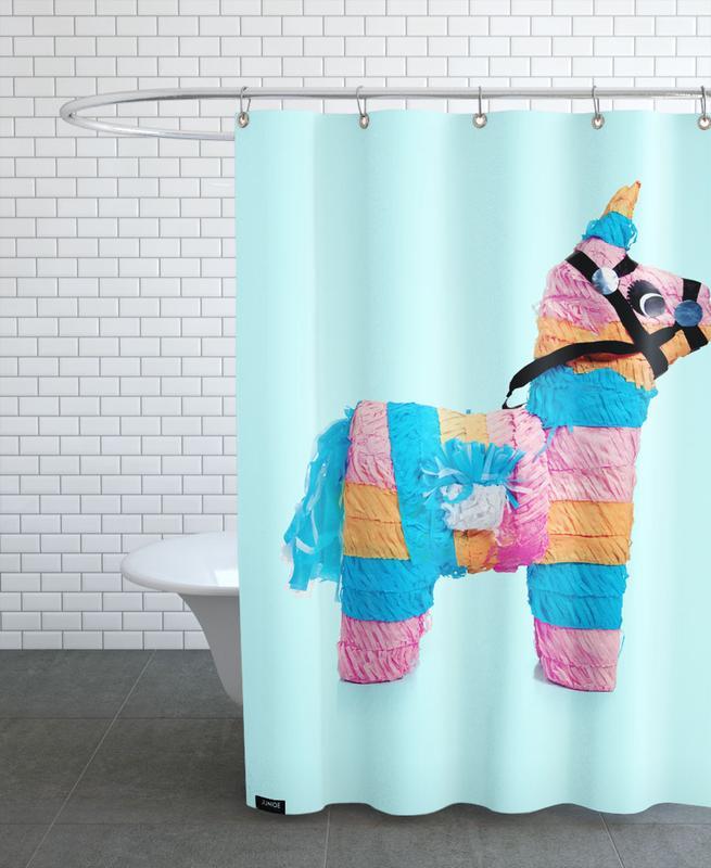 Pinata Shower Curtain