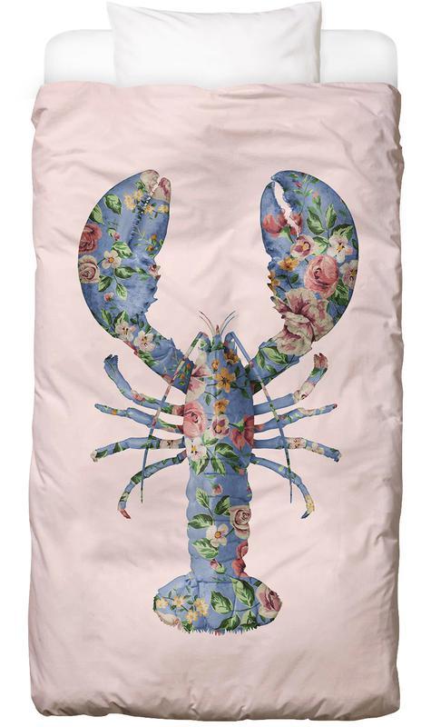 Floral Lobster Bed Linen