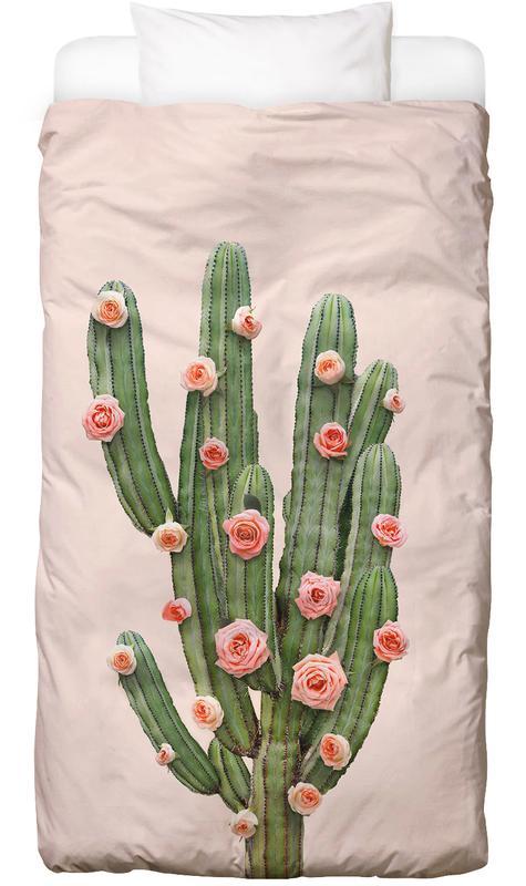 Cactus Roses -Kinderbettwäsche