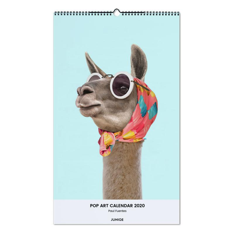 Pop Art Calendar 2020 - Paul Fuentes -Wandkalender