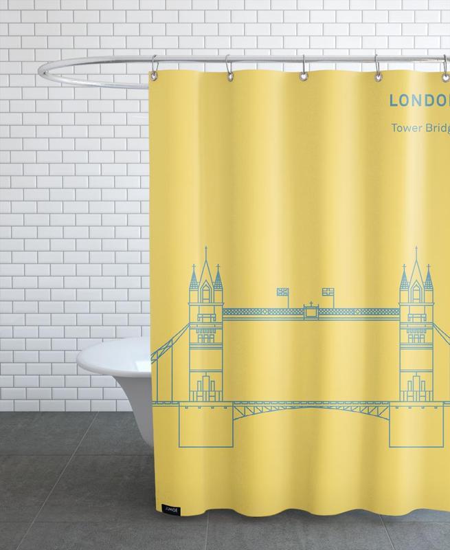 London -Duschvorhang
