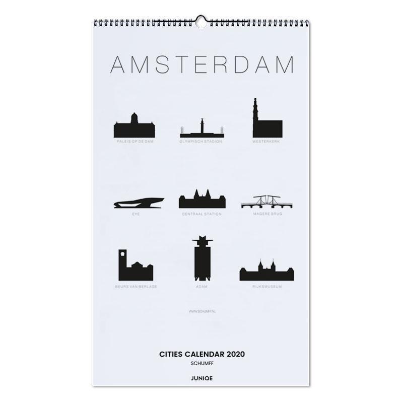 Cities Calendar 2020 - SCHUMFF Wall Calendar