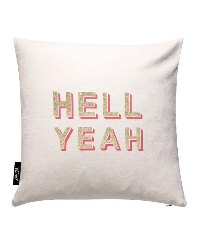 Hell Yeah Cushion Cover