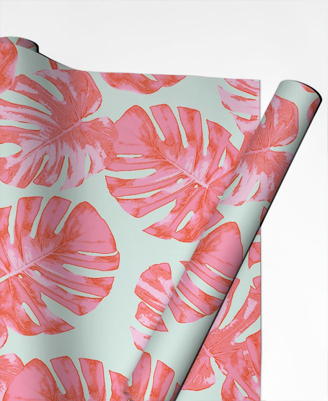 Feuilles & Plantes, Palm papier cadeau