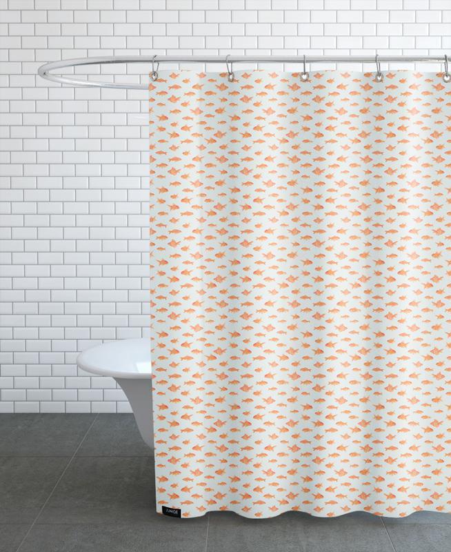 Fish, Patterns, Goldfish Shower Curtain